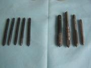 Метчики разного диаметра 9 шт времен СССР